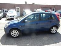 FORD FIESTA 1.2 zetec 2009 Petrol Manual in Blue