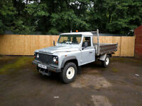 Land Rover 130 Defender 2.2D 2DR PICK UP, ABLE TO FIT GRITTER BODY TO PICK UP