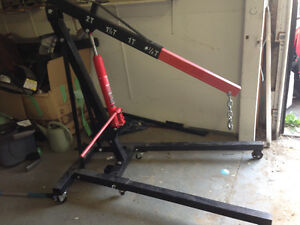Engine lift and stand