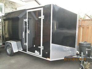 12 ft miska drop ramp trailer as new