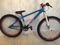 "Downhill Dirt Jump Stunt Bike Tyres Brakes Bicycle 26"" Wheels Trials"