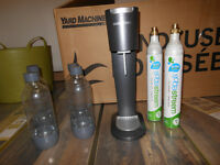 Soda Stream with 2 spare bottles