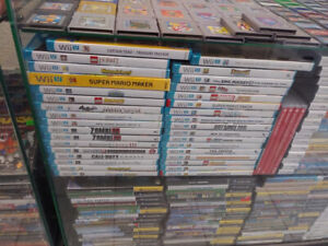Wii U Console and Games for sale (Chad's Game Room)