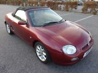 MG MGF 1.8i 2002 110,000 miles (HPI clear) (convertable)