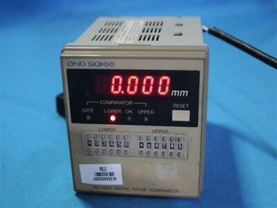 Ono Sokki Dg-4240 Dg4240 Digital Gauge Comparator