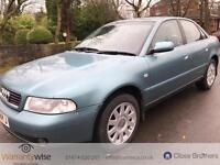 AUDI A4 TDI SE, Green, Auto, Diesel, 2000 12 MONTHS MOT 2 OWNERS FROM NEW