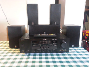FS: 5.1 Yamaha receiver amp/speakers