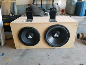 Subs and 2 sub boxes