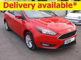 2014 Ford Focus 1.6TDCi Zetec DAMAGED REPAIRABLE SALVAGE