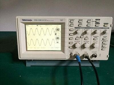 100 Test Tektronix Tds220 2 Channel Digital Oscilloscope 100 Mhz 1gss