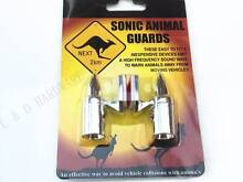 Animal Repeller Chrome Sonic Shu Shoo Roo Warning Guard One Pair Brunswick Moreland Area Preview