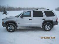 2002 Dodge Durango SXT SUV