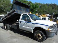 2004 Ford F450 Dump 66K Miles