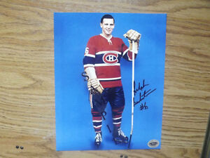 FS: Ralph Backstrom (Canadiens) 8x10 Autographed Photos x3 London Ontario image 3