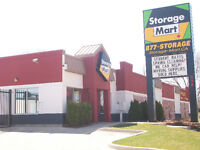 Storage and Moving Supplies Available 1st Month FREE*