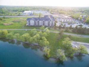 2 Bedroom corner apartment with waterview for sale in Welland