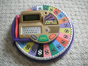 Wheel Of Fortune Electronic Tabletop Game