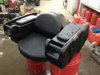 Two up Seat / Rear Cargo Box Assembly