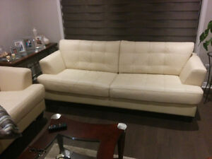 Sofas en cuire / Leather couches