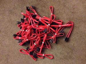 25 Sata cables