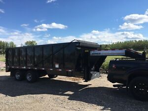2014 Big Tex 20' dump trailer.