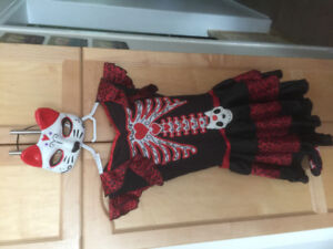 Day of the Dead Kitty Halloween costume