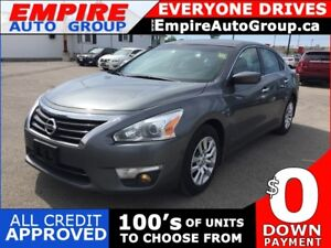 2015 NISSAN ALTIMA S * BACKUP CAMERA * BLUETOOTH