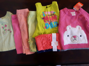 Lot of clothing - baby girl 6 to 9 month