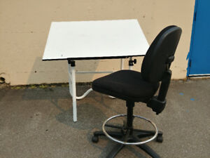 Adjustable Easel and Rolling Chair - Offer?