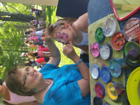 Joanne's face painting
