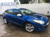 Renault 2010 Megane I-Music 1.5dCi Diesel Manual Estate in Blue