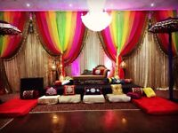 Wedding Sangeet and Mehndi Decoration