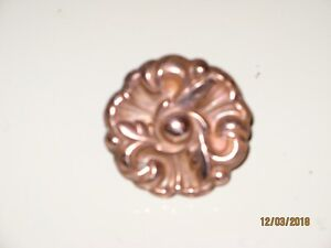 Cupboard Knobs in Solid Copper