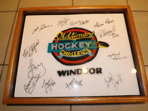 NHL Hockey autographs - Lafleur, Hull, Dionne, Stanfield, etc