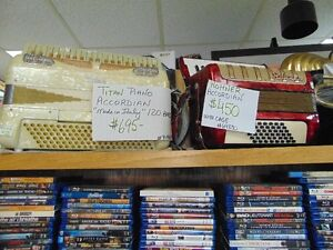 (1)HOHNER and (1)TITAN PIANO ACCORDIONS for sale