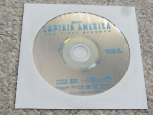 Captain America The First Avenger 3D Blu-Ray