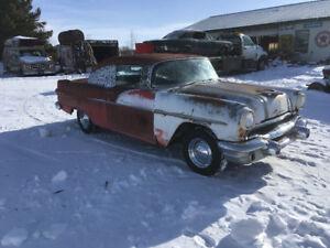 1956 Pontiac 2 dr hard top
