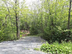 Terrain boisé de 3 acres avec accès au Lac Montjoie