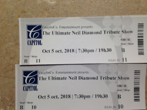 Billets for Neil Diamond