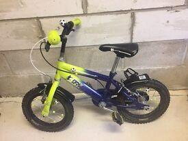 """Raleigh Striker Boys Bike 14"""""""