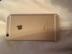 iPhone 6 16gig gold