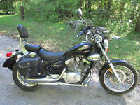 2002 Yamaha Virago 250 & 2003 Honda Shadow ACE