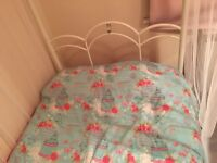 Girls single four poster bed