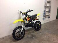New 50cc scrambler £300