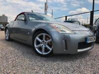 Nissan 350Z V6 NEW CLUTCH KIT-RED ROOF//HPI CLEAR // FULL BLACK LEATHER ///VERY