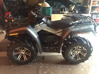 2011 Can-Am Outlander XT-P 800 with Plow