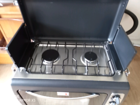 Gas Camping oven with two rings