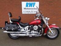 YAMAHA V STAR, DRAG STAR CLASSIC 2008, ONLY 9,823 MILES, EXTRAS, MINT COND, MOT