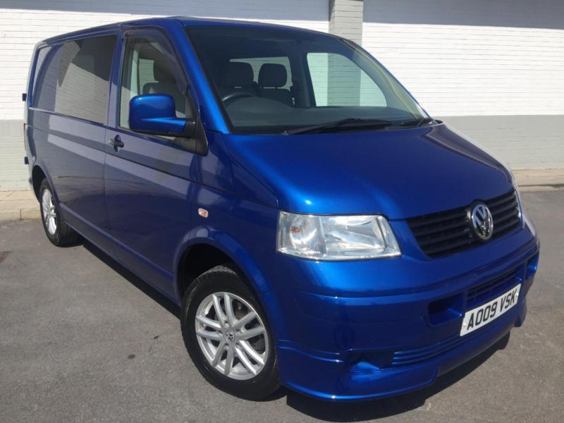2009 09 Volkswagen TR-PORTER T28 102 TDI SWB WITHROCK AND ROLL BED MOTOR HOME