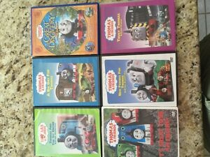Thomas train DVD's